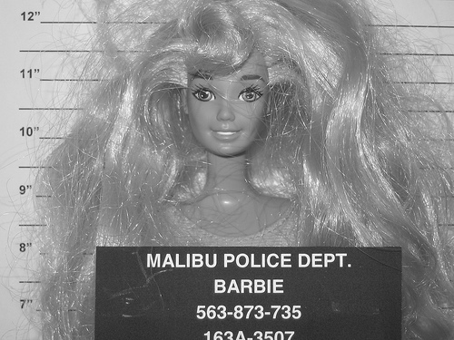 barbie at the Santa Rita Jail